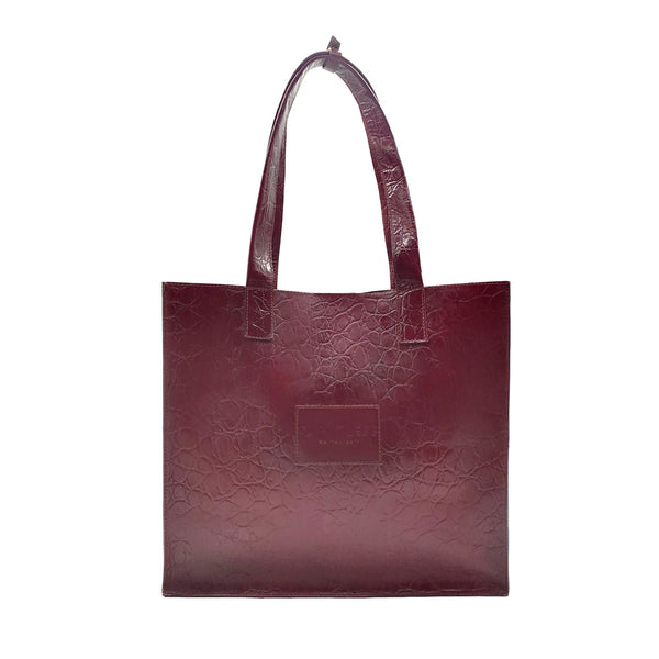 Large Bag #Claret Croco