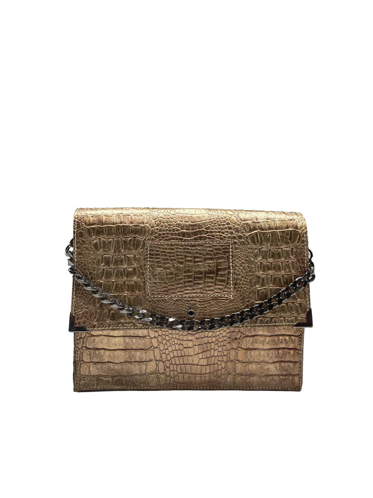 Small Versatile Bag #Gold Croco