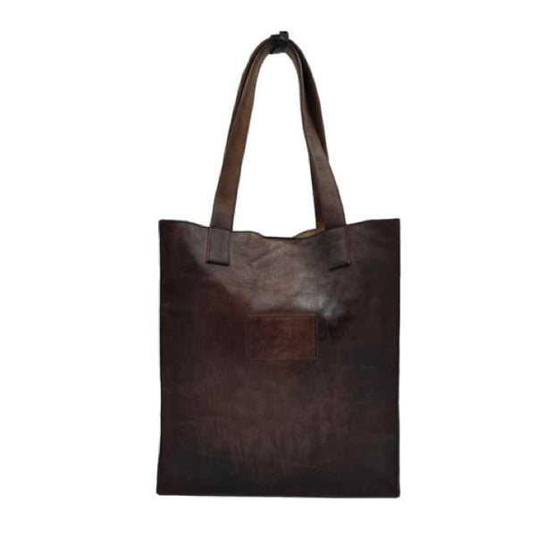 Large Bag #CROCKY BORDO BROWN