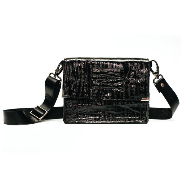 Versatile Small Bag #Black Lack Reptile