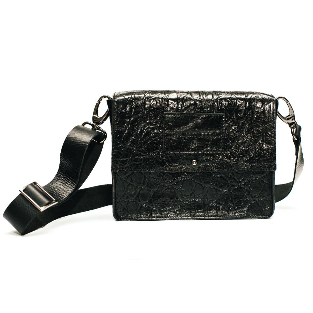 Versatile Small Bag #Black Raptile