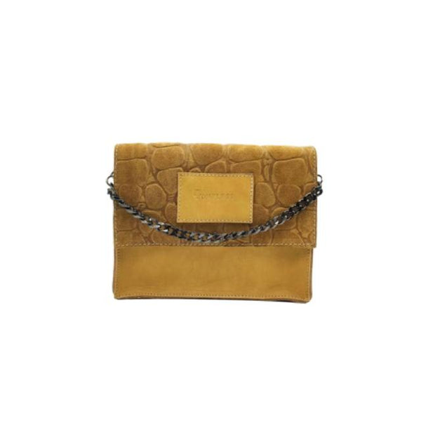 Versatile Small Bag #SUEDE BEIGE CROCO