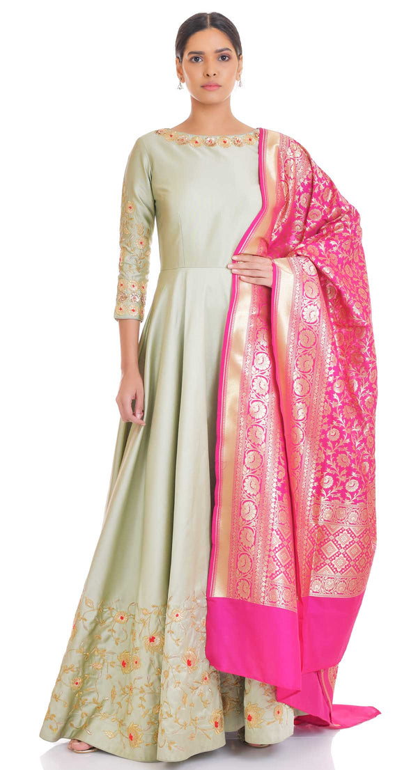 party wear anarkali suits chandigarh