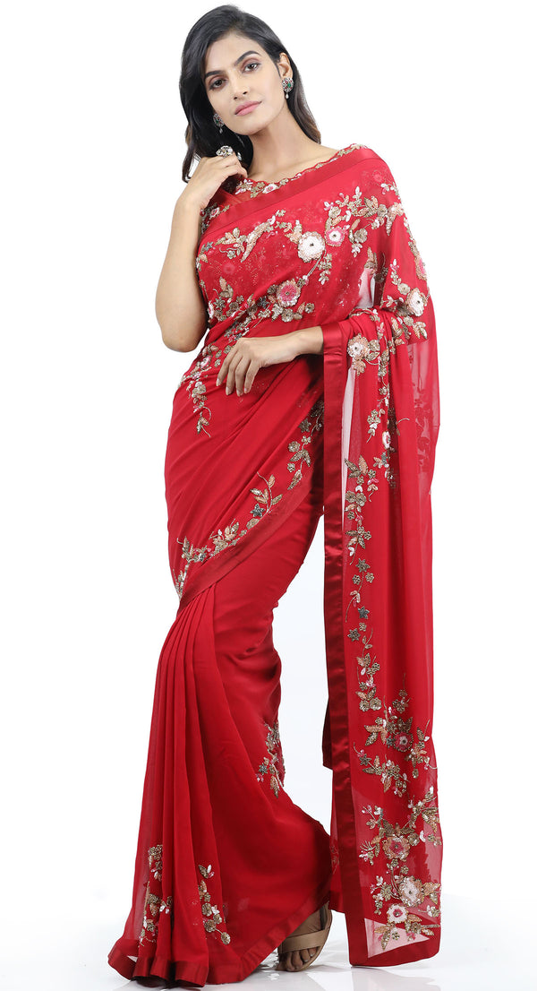 wedding saree design