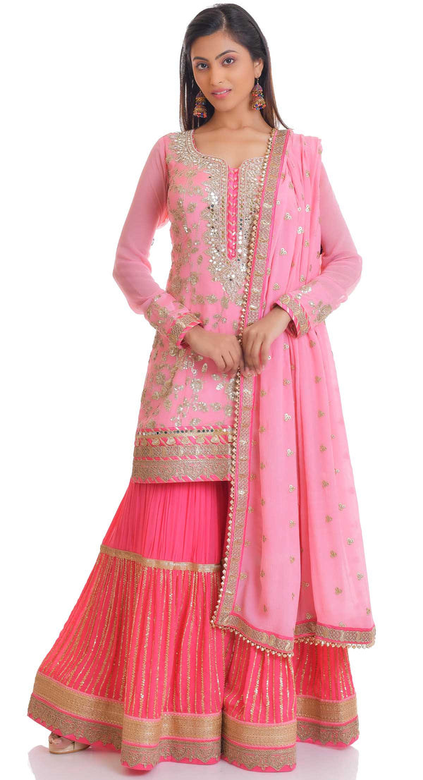 buy designer sharara salwar suit