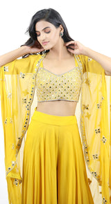 YELLOW JACKET SHARARA