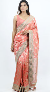 latest banarsi saree designs by poshak