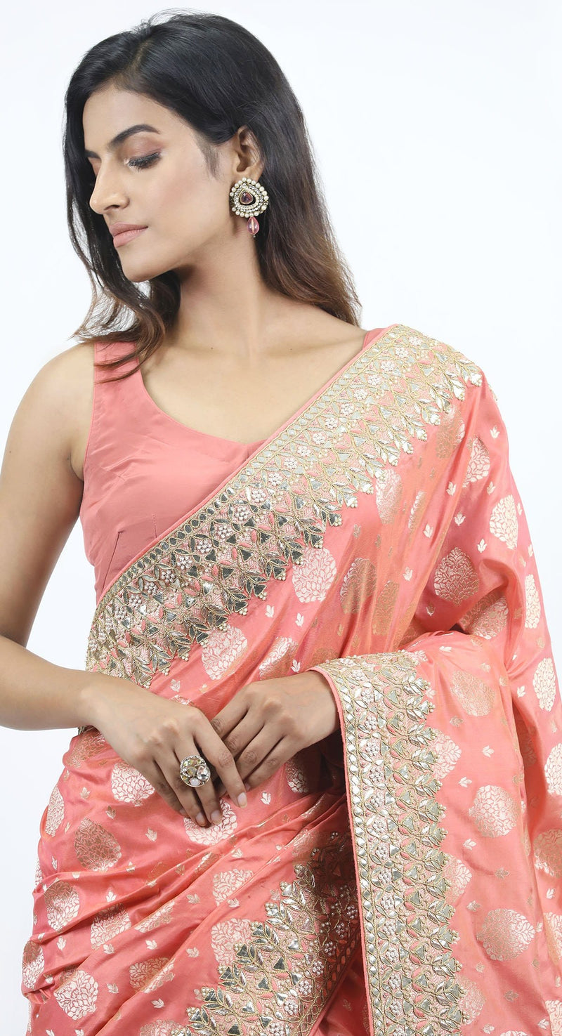 banarsi saree latest design by poshak