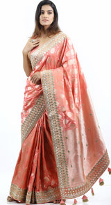 netted half saree designs with price