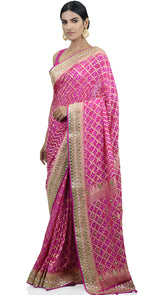 GEORGETTE BANDEJ SAREE