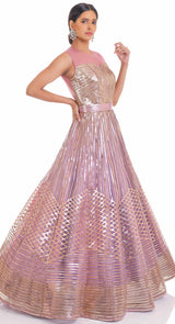 ONION PINK GOWN
