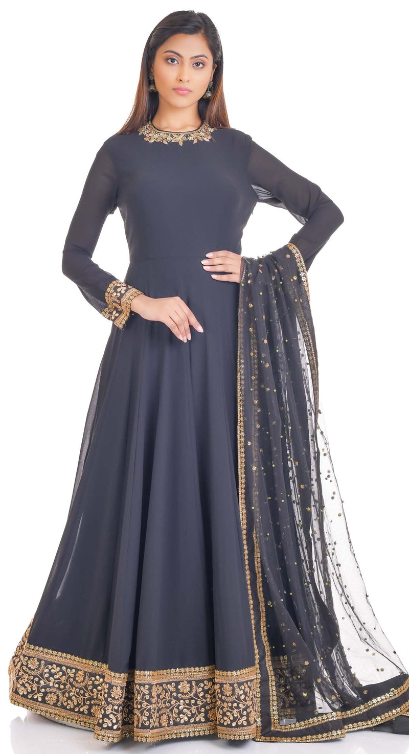 readymade anarkali suit by poshak