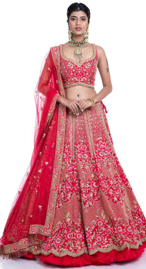 bridal lehenga in chandigarh