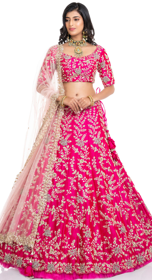 latest bridal lehenga in Chandigarh