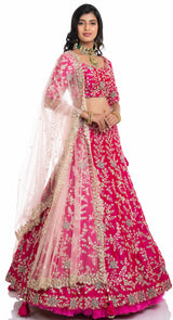 buy bridal lehenga online by poshak