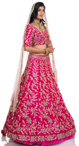 indian bridal lehenga in Chandigarh