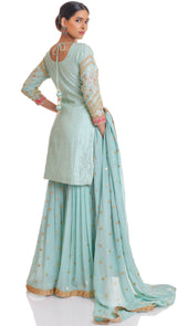 party wear sharara suit chandigarh