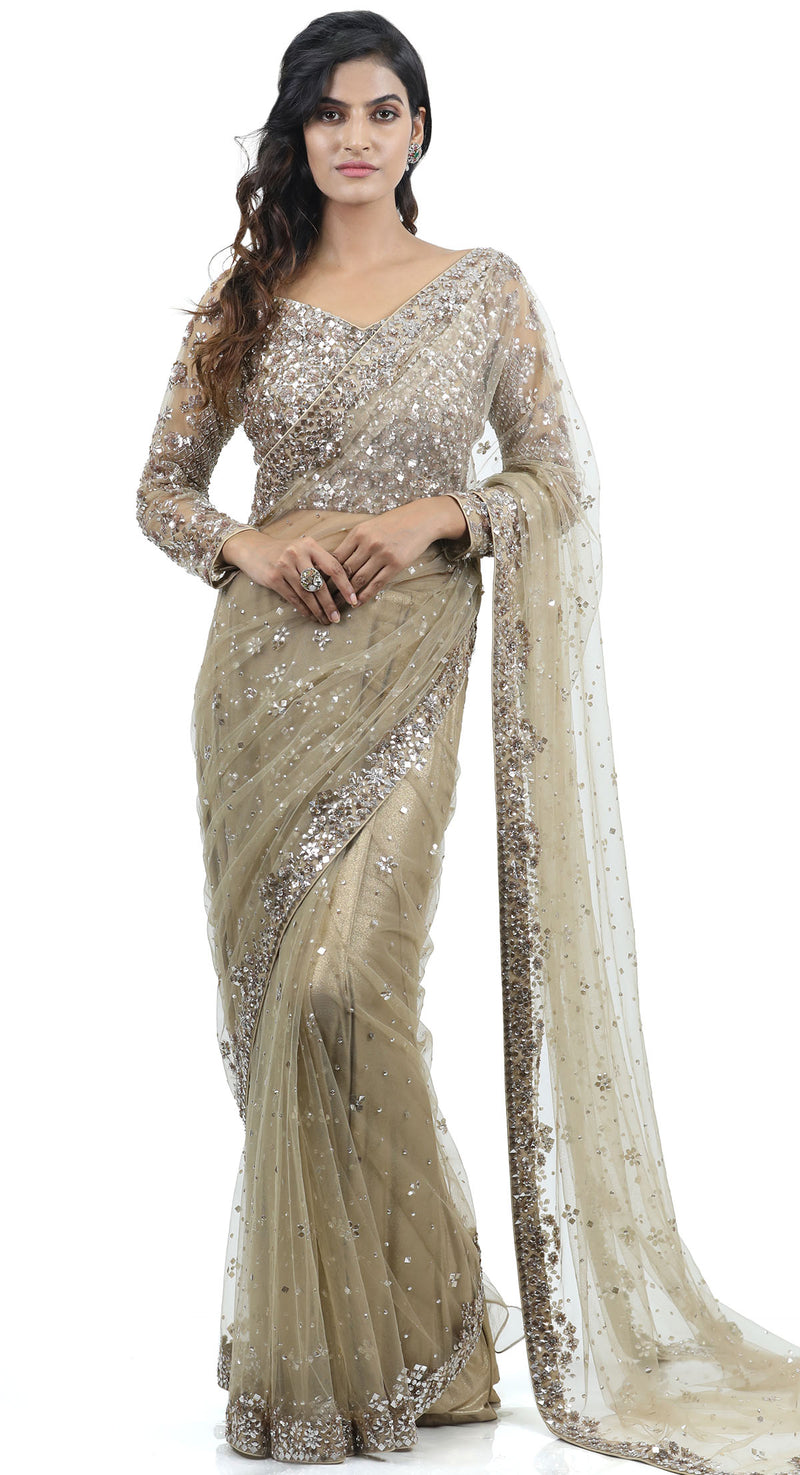 latest net sarees collection