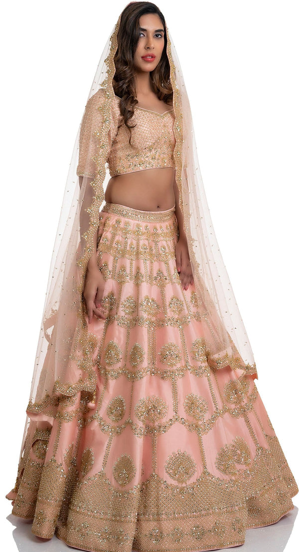 latest wedding lehenga design