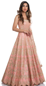 indian party wear anarkali suits