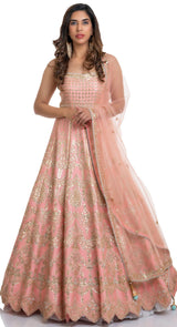 online party wear anarkali suits