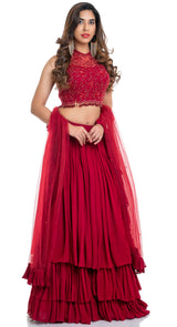 latest lehenga trends in India