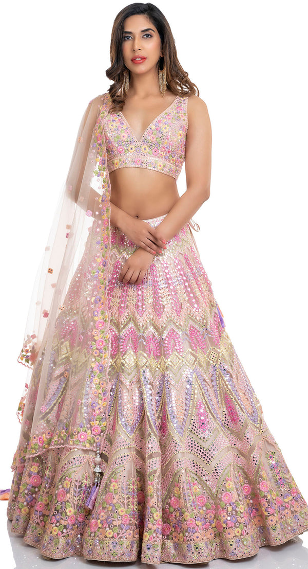 best lehenga for bride sister