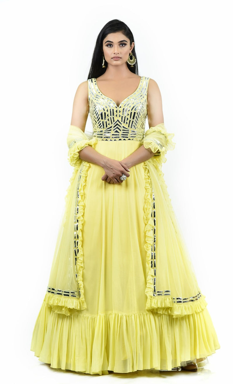 lemon Anarkali
