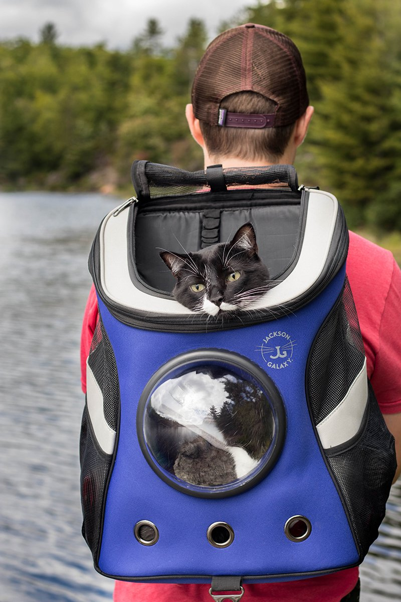 The Jackson Galaxy Convertible Cat Backpack Carrier