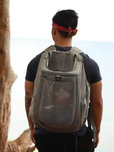 """The Navigator"" Cat Backpack - For Adventurous Cats and Humans"