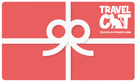 Travel Cat Shop Digital Gift Card