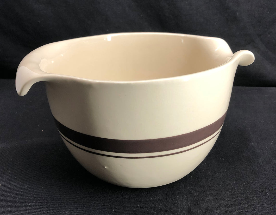 "Unique ""McCoy"" Pour Spout & Handle Bowl"