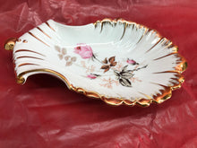 Load image into Gallery viewer, Limoges Porcelain Flowered Dish