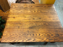 Load image into Gallery viewer, Antique Oak Game Table