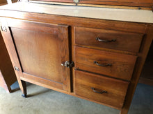 Load image into Gallery viewer, Vintage Hoosier Cabinet