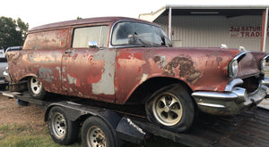 1957 Chevrolet Panel Wagon Project