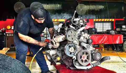 Fixing the engine cape town auto spares