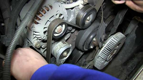 Change a timing belt