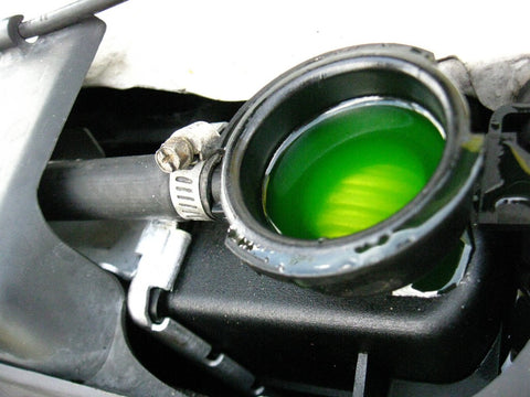 Green radiator coolant