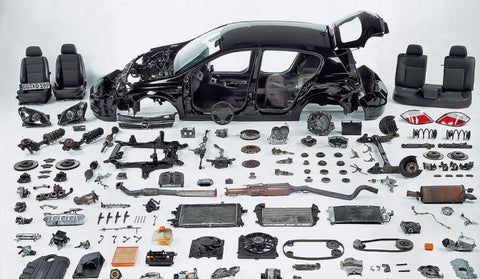 BMW Headlight and body parts