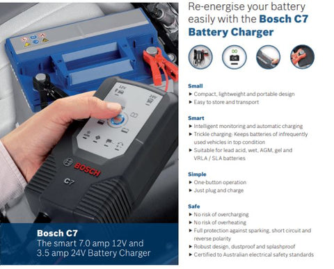 Bosch c7 smart charger
