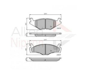 Brake Pads ADB0148 VW and Passat Models