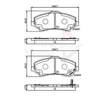 Load image into Gallery viewer, Brake Pads Dodge-Jeep  FDB4074