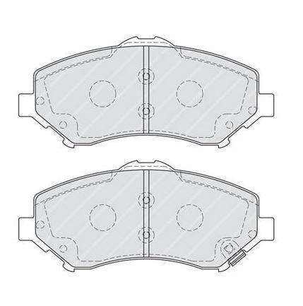 Brake Pads Dodge-Jeep  ADB36066