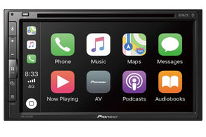Multimedia player with Apple Car Play, Android Auto & Bluetooth