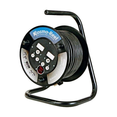 30m Extension Cord Reel With Double Plug
