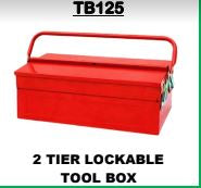 Toolbox 2 Tier Lockable - Cape Town Auto Spares