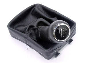 5 Speed Gear knob & Pouch Combo VW