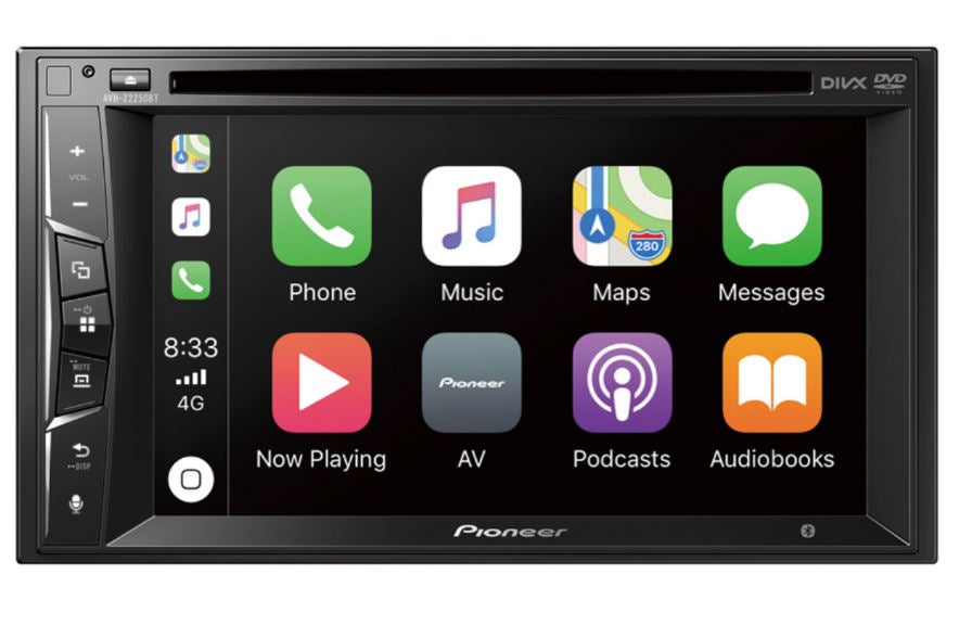 Multimedia Player with Apple Car Play & Bluetooth