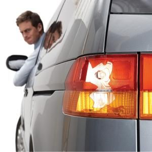 Broken tail light repair